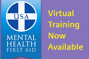 Mental Health First Aid Virtual Training